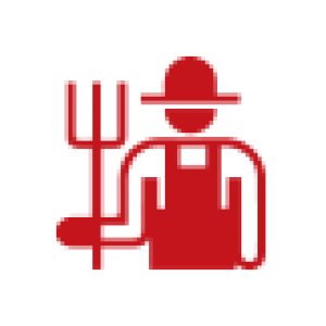 Lord of the fries - farmer icon