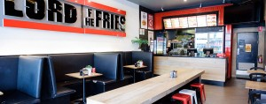 Lord of the fries - Chapel Street Store internal view