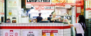Lord of the fries - our teammates