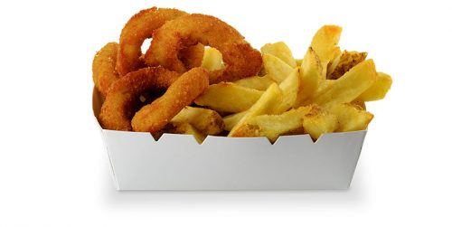 Lord of the fries - Onion Rings & Classic Fries Munch Box